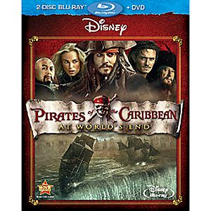 Pirates of the Caribbean: At Worlds End 2-Disc Blu-ray and DVD