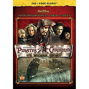Pirates of the Caribbean: At Worlds End 3-Disc Blu-ray, DVD and Digital File