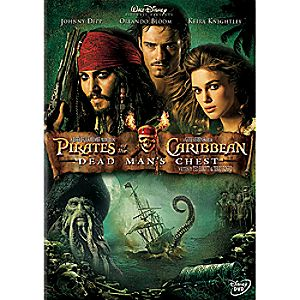 Pirates of the Caribbean: Dead Mans Chest DVD