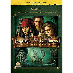 Pirates of the Caribbean: Dead Mans Chest 3-Disc Blu-ray and DVD
