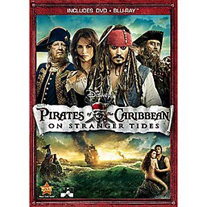 Pirates of the Caribbean: On Stranger Tides 2-Disc Blu-ray and DVD
