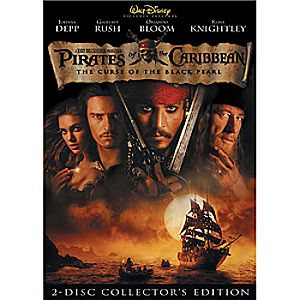 Pirates of the Caribbean: The Curse of the Black Pearl DVD Collectors Edition