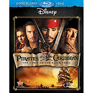 Pirates of the Caribbean: The Curse of the Black Pearl 3-Disc Blu-ray and DVD