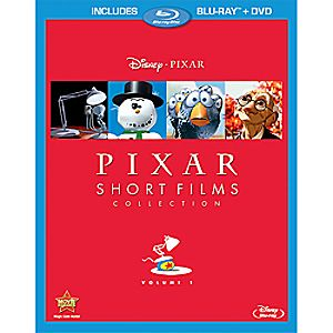 Pixar Short Films Collection Volume 1 2-Disc Blu-ray and DVD