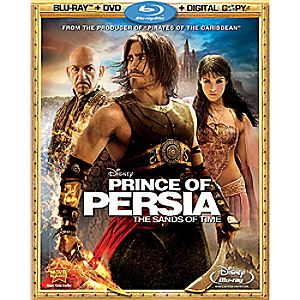 Prince of Persia: the Sands of Time 3-Disc Blu-ray, DVD and Digital File