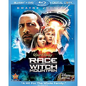 Race to Witch Mountain 3-Disc Blu-ray, DVD and Digital File