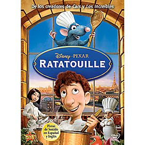 Ratatouille Spanish DVD