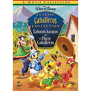 Saludos Amigos and The Three Caballeros DVD 2-Movie Collection