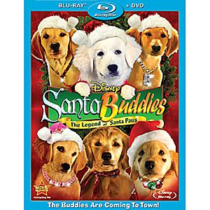 Santa Buddies: The Legend of Santa Paws 2-Disc Blu-ray and DVD