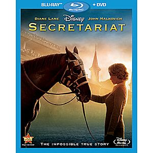 Secretariat 2-Disc Blu-ray and DVD
