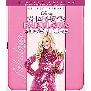 Sharpays Fabulous Adventure 3-Disc Blu-ray, DVD and Digital File
