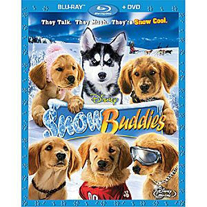 Snow Buddies 2-Disc Blu-ray and DVD