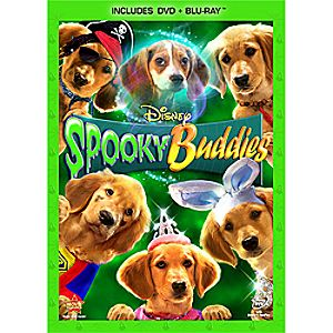 Spooky Buddies 2-Disc Blu-ray and DVD
