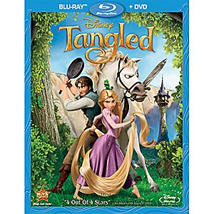 Tangled 2-Disc Blu-ray and DVD
