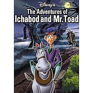 The Adventures of Ichabod Crane and Mr. Toad DVD Gold Collection