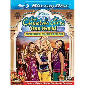 The Cheetah Girls: One World Extended Music Edition Blu-ray
