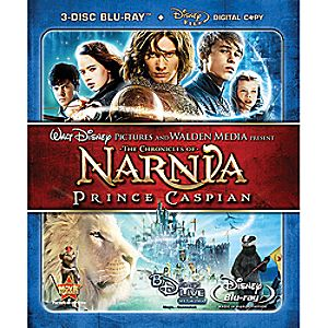 The Chronicles of Narnia: Prince Caspian 3-Disc Blu-ray and Digital File Collectors Edition
