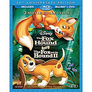 The Fox and the Hound/The Fox and the Hound 2 3-Disc Blu-ray and DVD Collection