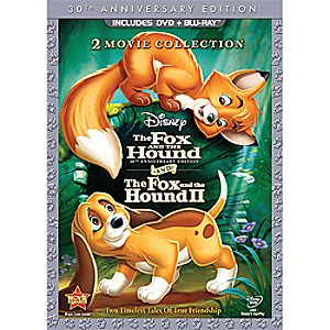 The Fox and the Hound/The Fox and the Hound 3-Disc Blu-ray and DVD Collection