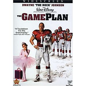 The Game Plan DVD Widescreen