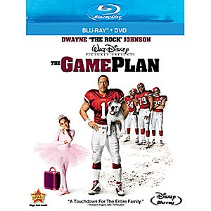 The Game Plan 2-Disc Blu-ray and DVD