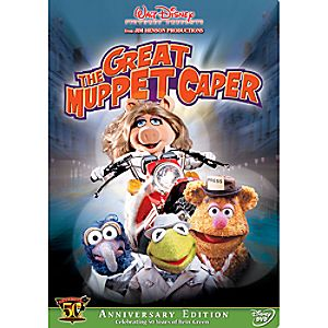 The Great Muppet Caper: Kermits 50th Anniversary Edition DVD
