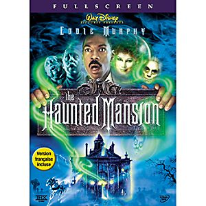 The Haunted Mansion DVD Fullscreen