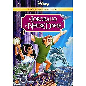 The Hunchback of Notre Dame DVD Spanish