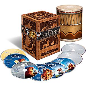 The Lion King Trilogy - 8-Disc Set