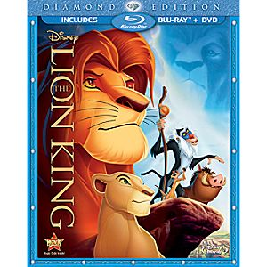 The Lion King 2-Disc Blu-ray and DVD