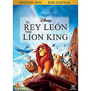 The Lion King Spanish DVD