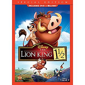 The Lion King 1 1/2 2-Disc Blu-ray and DVD Special Edition