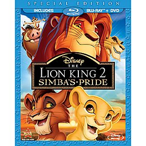 The Lion King 2: Simbas Pride 2-Disc Blu-ray and DVD Special Edition