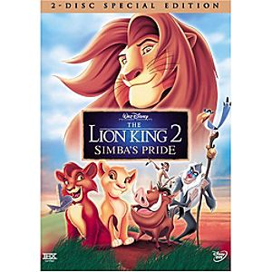 The Lion King 2: Simbas Pride DVD Special Edition