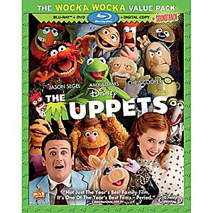 The Muppets 3-Disc Blu-ray, DVD and Digital File