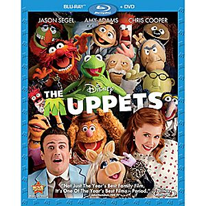 The Muppets 2-Disc Blu-ray and DVD