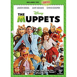 The Muppets DVD and soundtrack CD