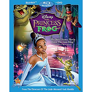 The Princess and the Frog 2-Disc Blu-ray and DVD