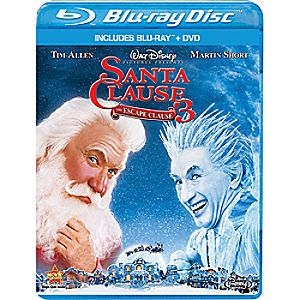 The Santa Clause 3: The Escape Clause 2-Disc Blu-ray and DVD