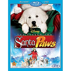 The Search for Santa Paws 2-Disc Blu-ray and DVD