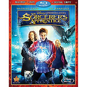 The Sorcerers Apprentice 3-Disc Blu-ray, DVD and Digital File