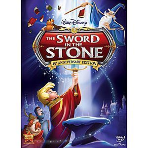 The Sword in the Stone 45th Anniversary Edition DVD