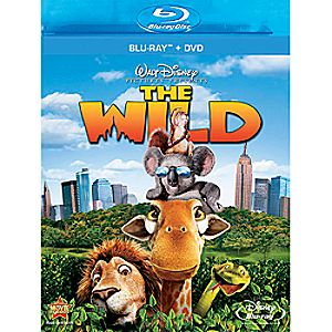 The Wild 2-Disc Blu-ray and DVD