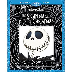 Tim Burtons The Nightmare Before Christmas 2-Disc Blu-ray and DVD