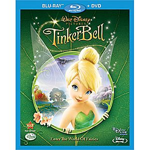 Tinker Bell 2-Disc Blu-ray and DVD