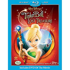 Tinker Bell and the Lost Treasure 2-Disc Blu-ray and DVD