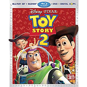 Toy Story 2: 4-Disc Blu-ray, 3D Blu-ray, DVD and Digital File
