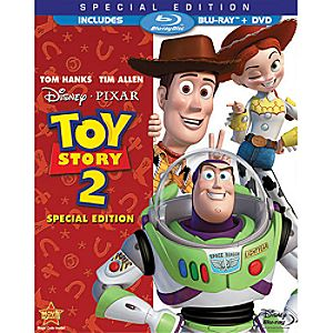 Toy Story 2 Special Edition 2-Disc Blu-ray and DVD