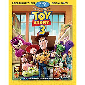 Toy Story 3: 4-Disc Blu-ray, DVD and Digital File