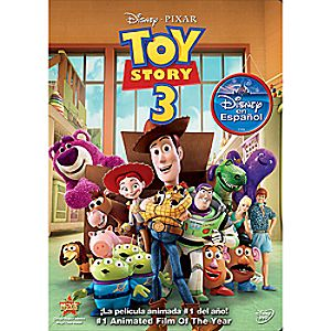 Toy Story 3 Spanish DVD